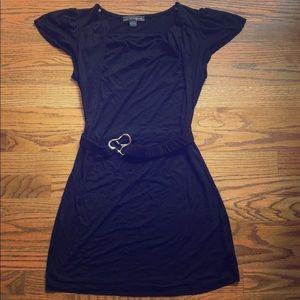 Short summer dress with belt